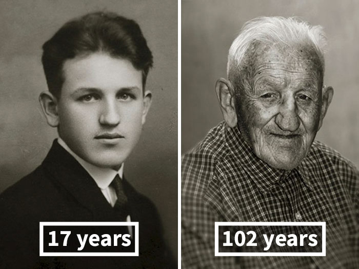 Stanislav Spáčil, 17 Years Old (Skilled Electrician), 102 Years Old