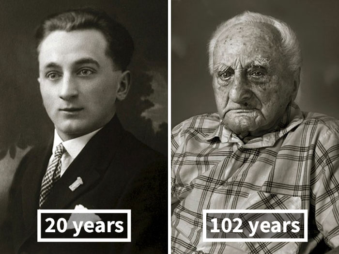 Ludvík Chybík, 20 Years Old (Skilled Confectioner), 102 Years Old