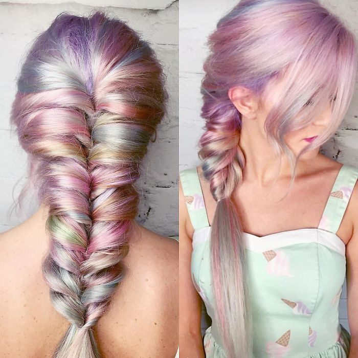 Holographic Mermaid Hair