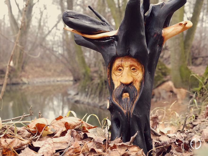 Candlestick Spirit Of The Wood