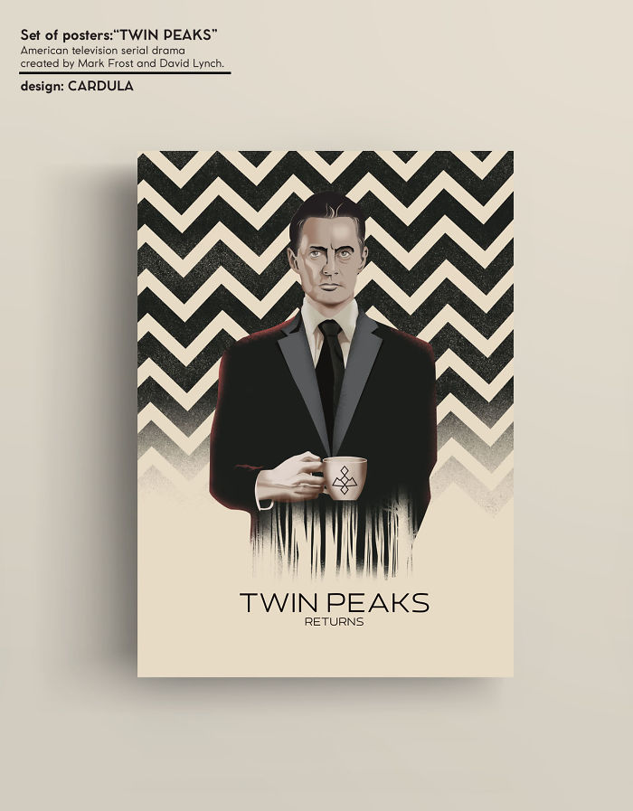 "Set Of Posters ""twin Peaks"""