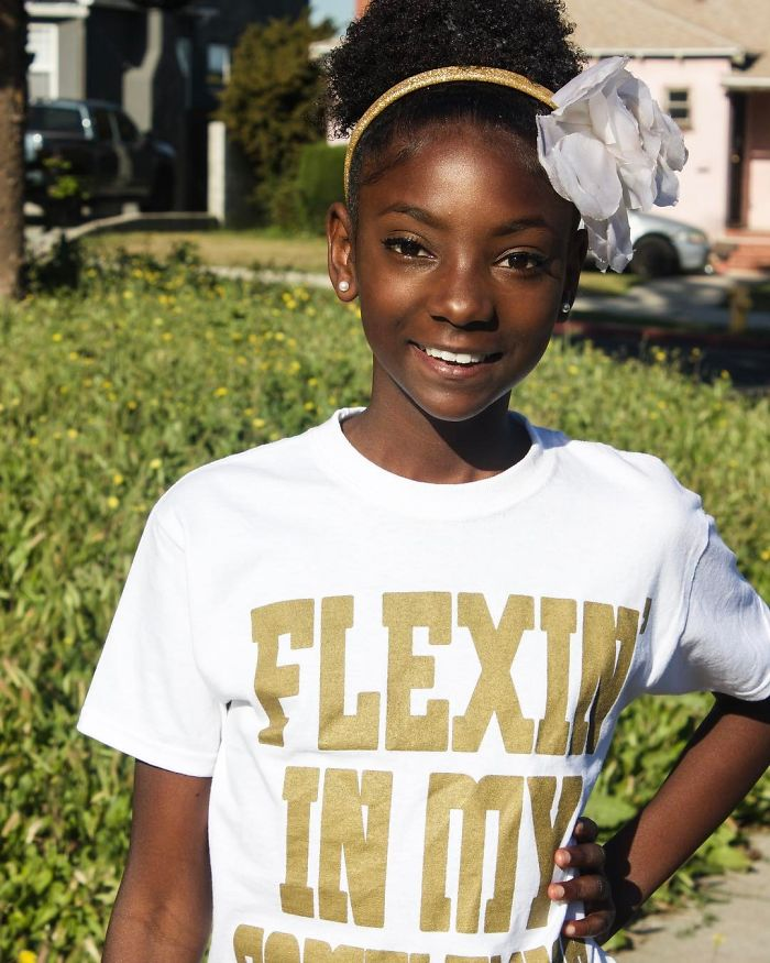 10-Year-Old Shuts Down Bullies By Launching Clothing Line That Helps People Feel Confident In Their Skin