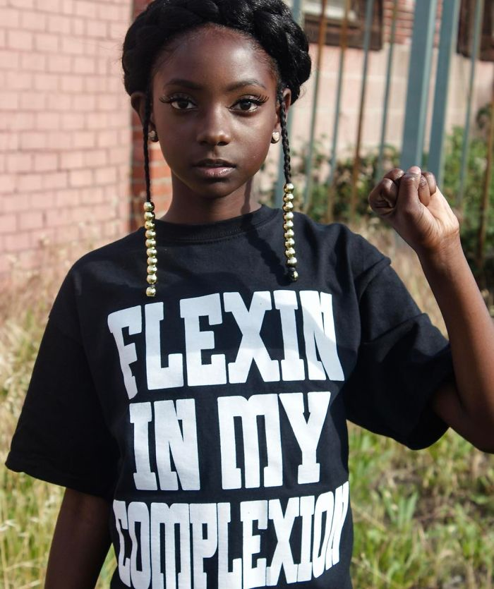 10 Year Old Shuts Down Bullies By Launching Clothing Line