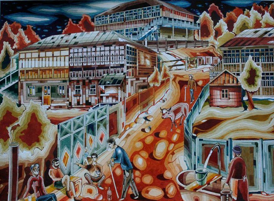Glovelis' Main Road (Gloveli Is A Surname In My Village)