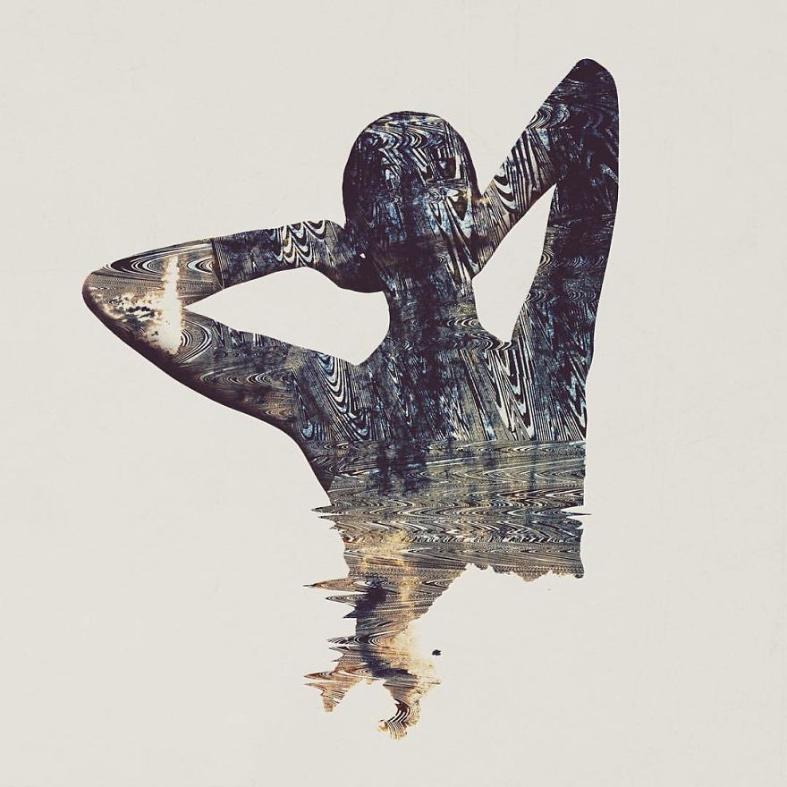 My Double Exposure Abstract Silhouettes