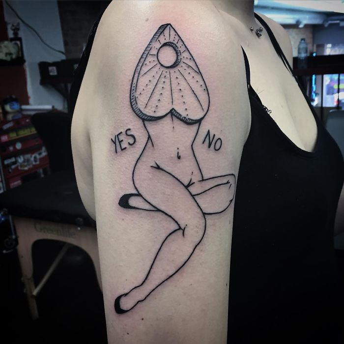 Headless Girl Tattoos