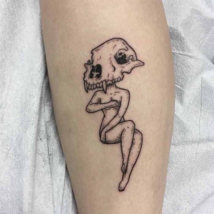 Headless Girl Tattoos