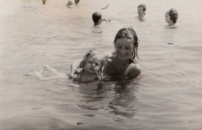Mother And Grand Mother In 72