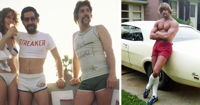 1970s Pics Of Men's Shorts Show A Forgotten Fashion Trend That ...