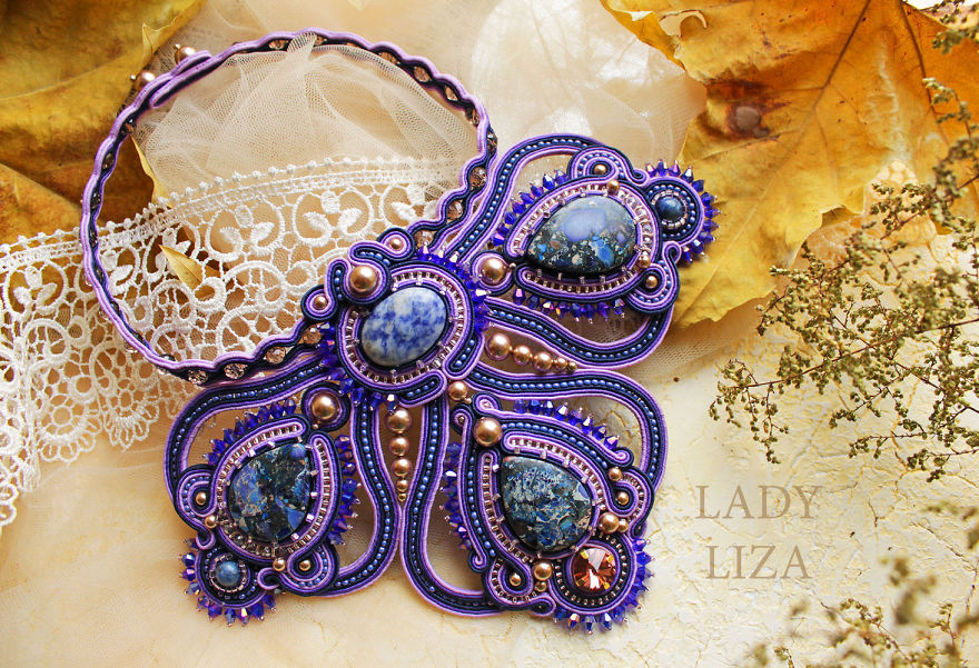 10+ Stunning Handmade Soutache Pieces Of Jewelry By Lady-liza