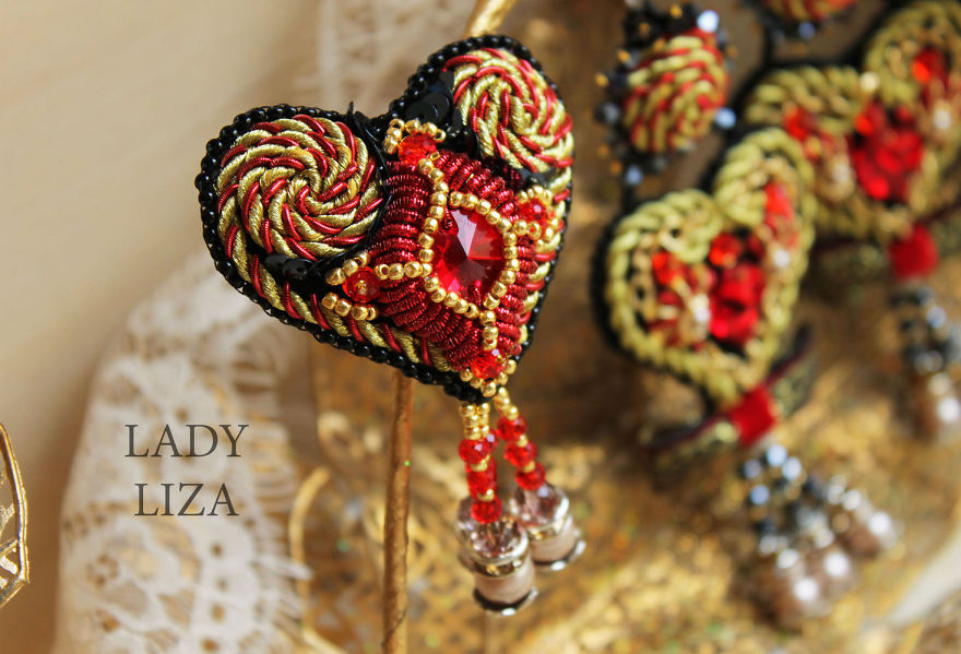 10+ Stunning Handmade Soutache Pieces Of Jewelry By Lady-liza