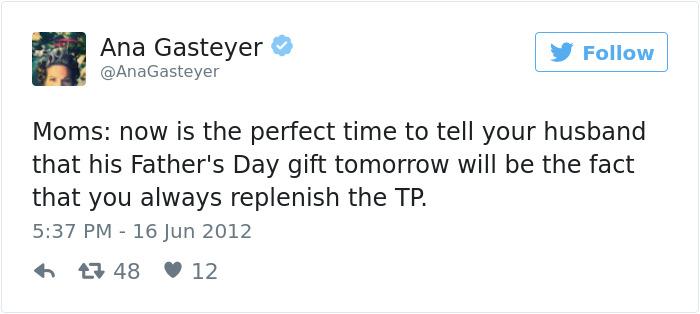 Ana Gasteyer's Parenting Tweets