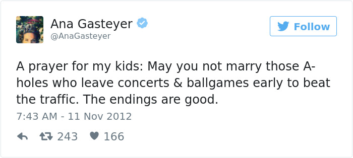 Ana Gasteyer's Parenting Tweets