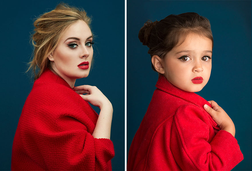Adele y scout