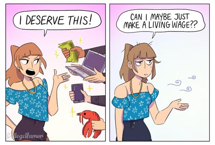 Millennials Comic