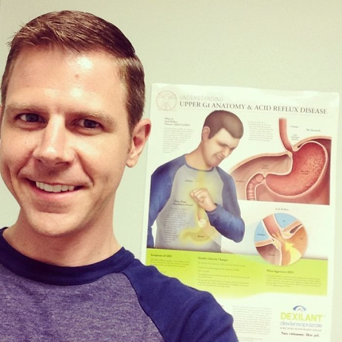 """My Doctor Said: """"You Kinda Look Like That Guy On The Wall Over There!""""..."""