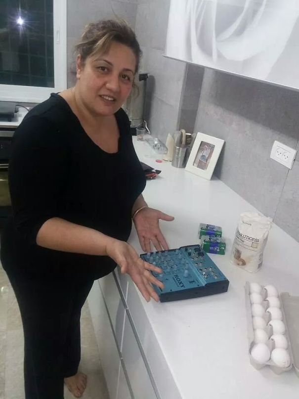My Mom Bought Mixer From The Internet