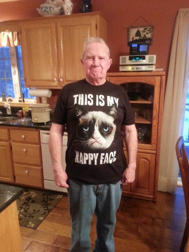 This Was All My Grandpa Wanted For Christmas