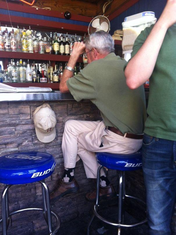Grandpa Gives No Fucks. When You See It
