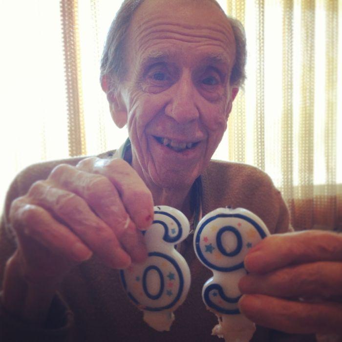 Con 96 años y la mente así de sucia