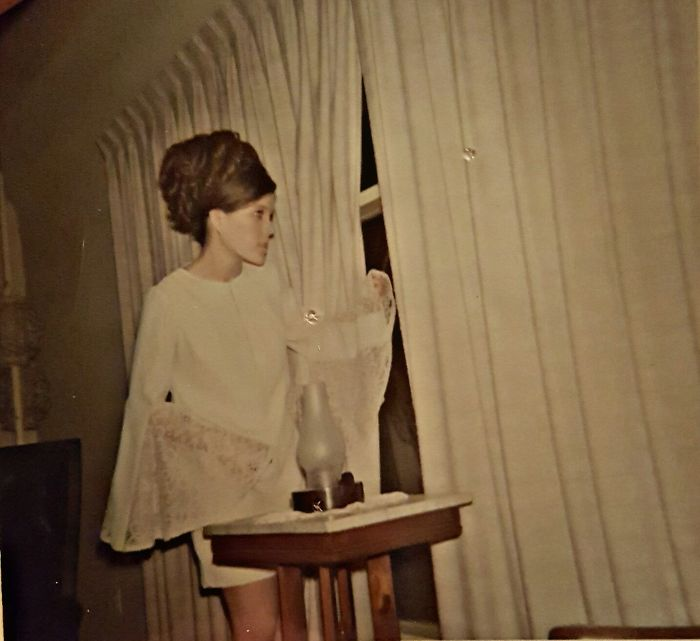 My Mom Looking For Her Prom Date In 1969