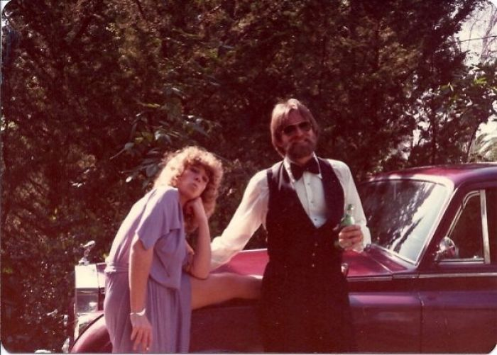Here Are My Parents Looking Badass On Their First Date. To The Oscars In 1977. My Dad Won.