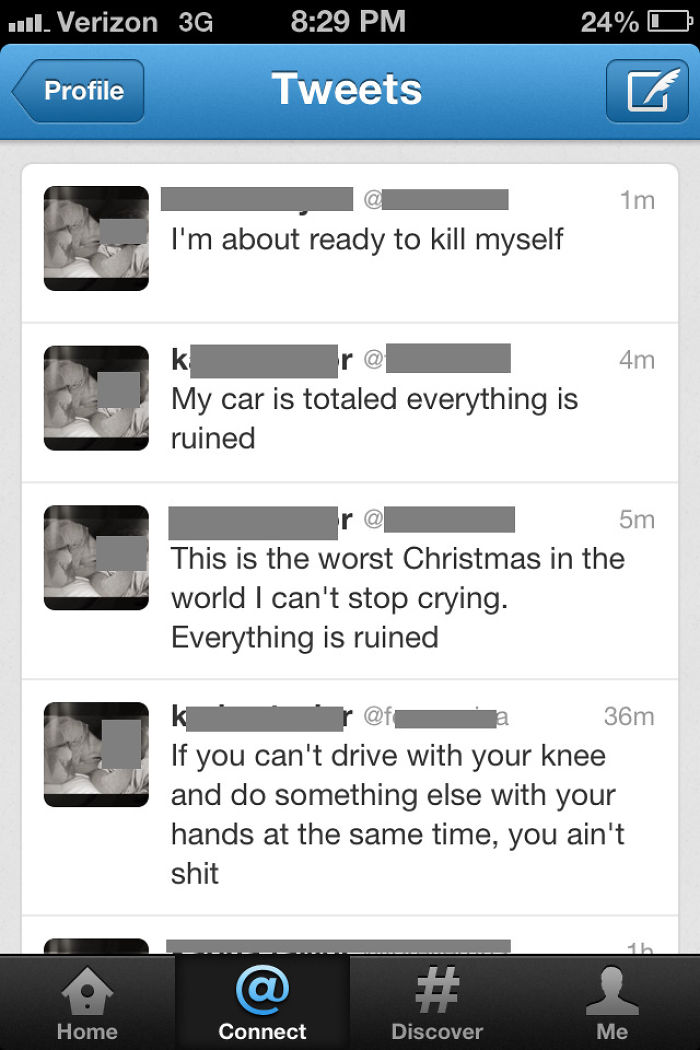 Tweeting While Driving With Your Knees