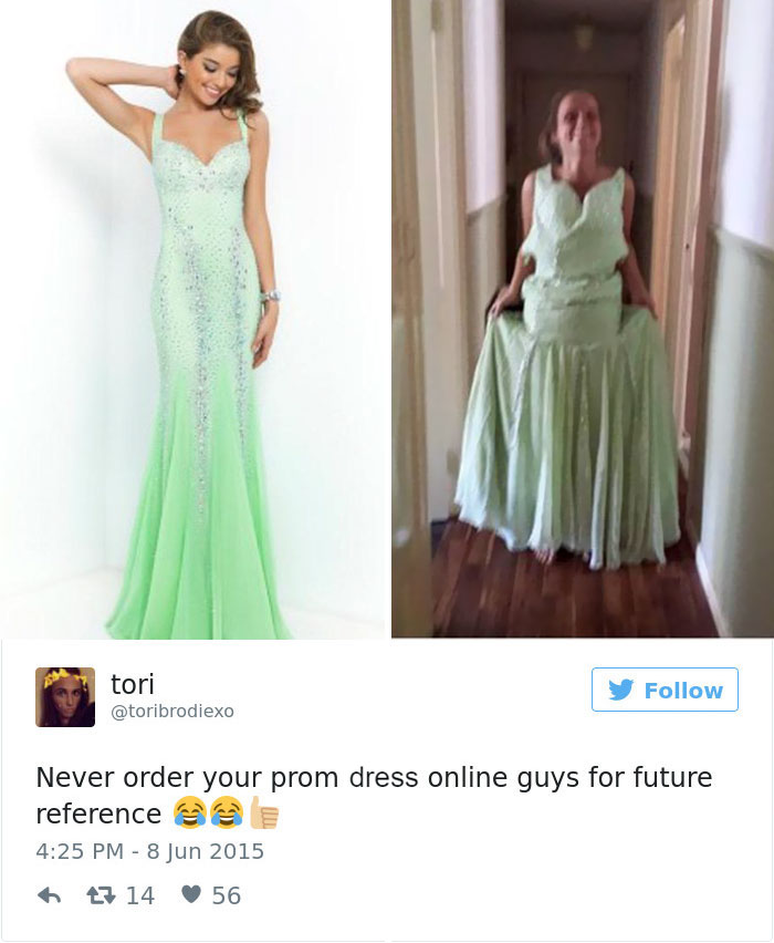Teens Are Sharing Prom Dresses They Regret Buying Online And It's ...