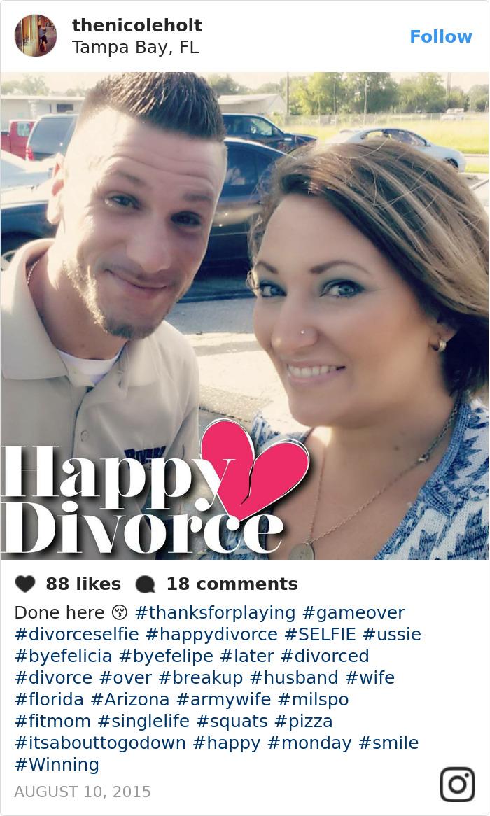Divorce-selfies