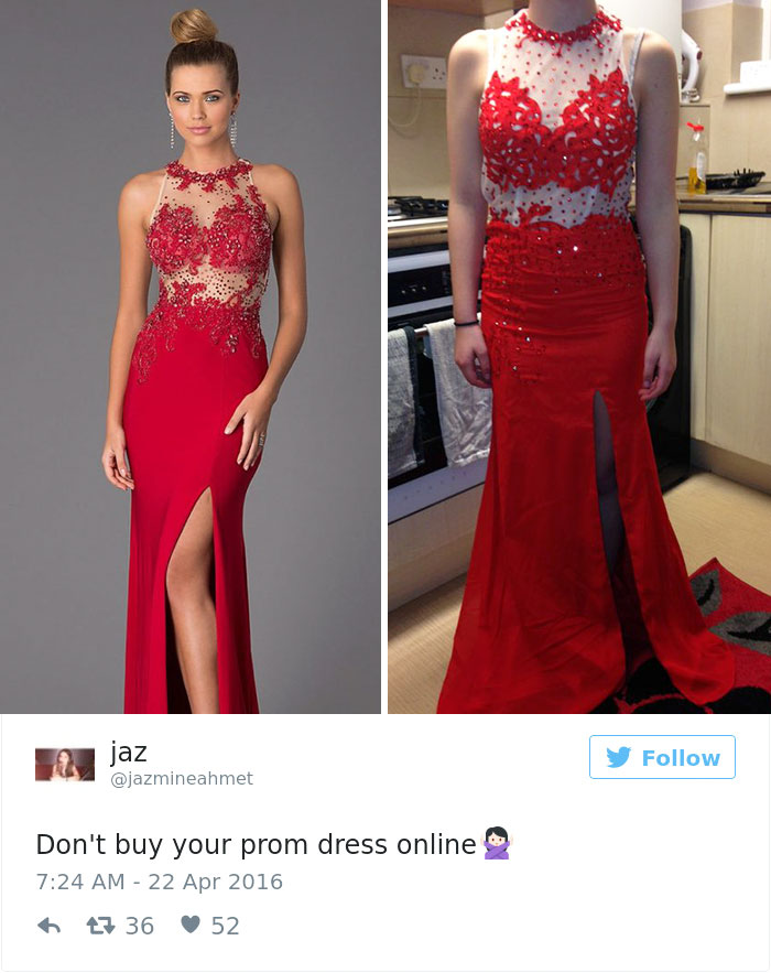 a6edc5c712c Teens Are Sharing Prom Dresses They Regret Buying Online And It s Hilarious