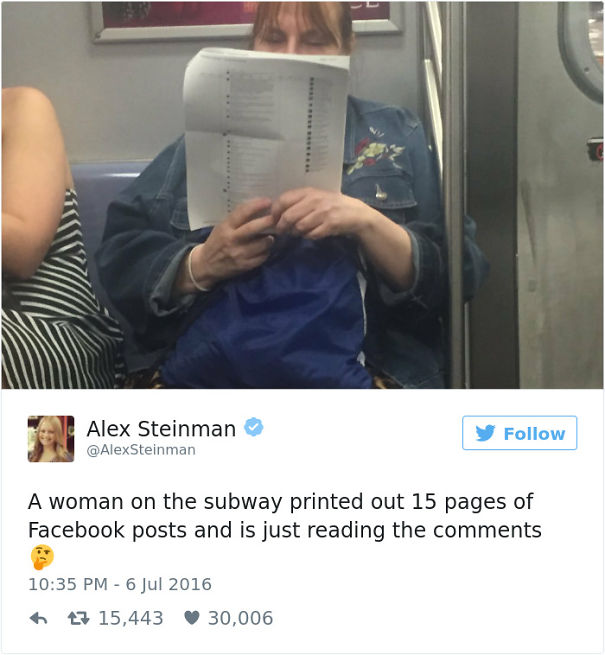 This Woman On The Subway