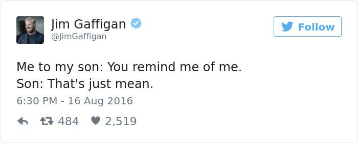 Savage Kid Tweet