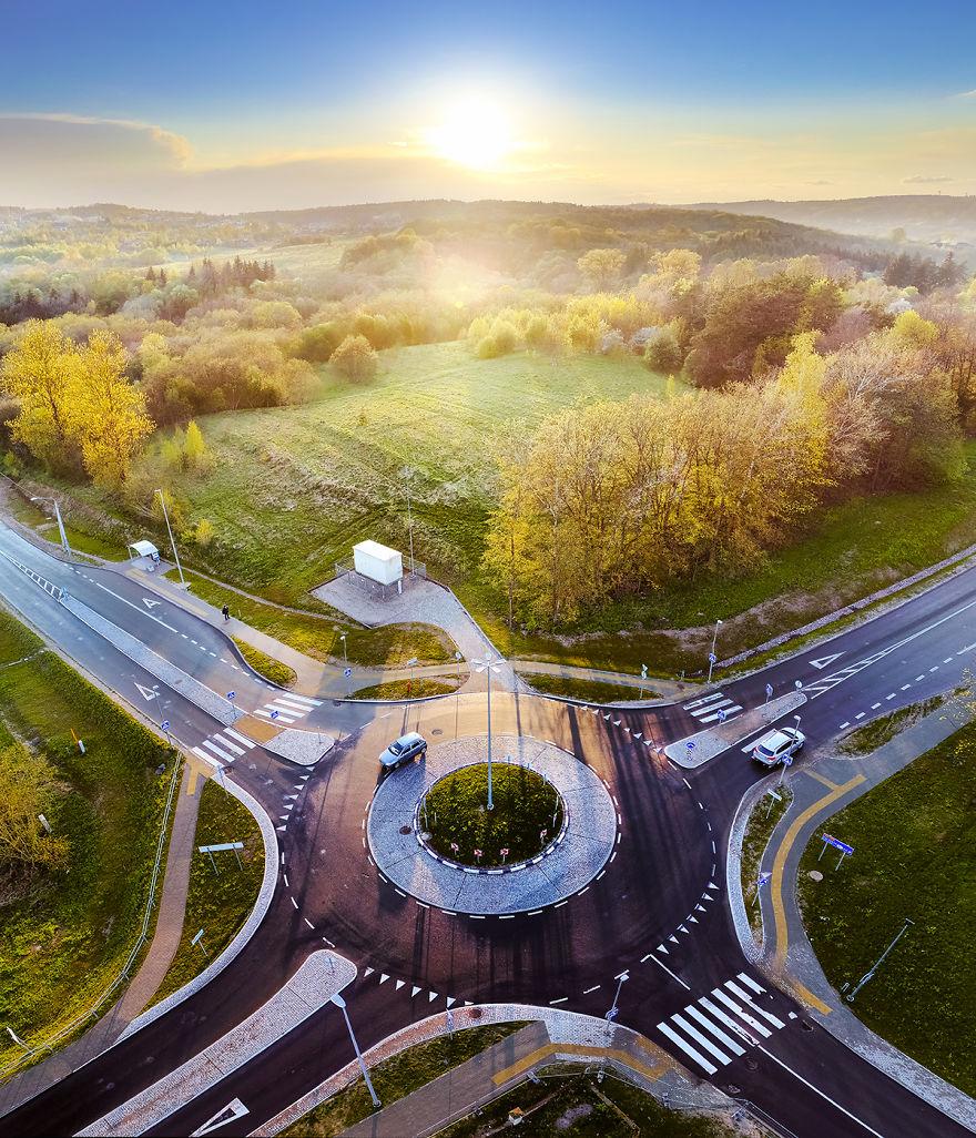 Naujoji Vilnia Roundabout