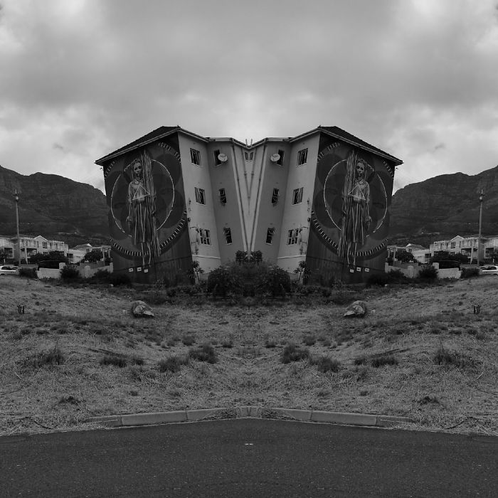I Travel Across South Africa For Business And Enjoy Shooting And Editing Surreal-Symmetric Cell-Phonography