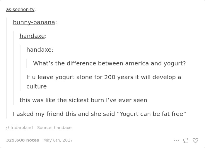 Mocking Americans Stereotypes