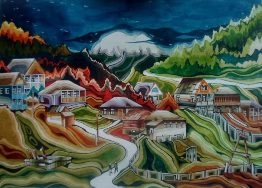 Village 'usholta'