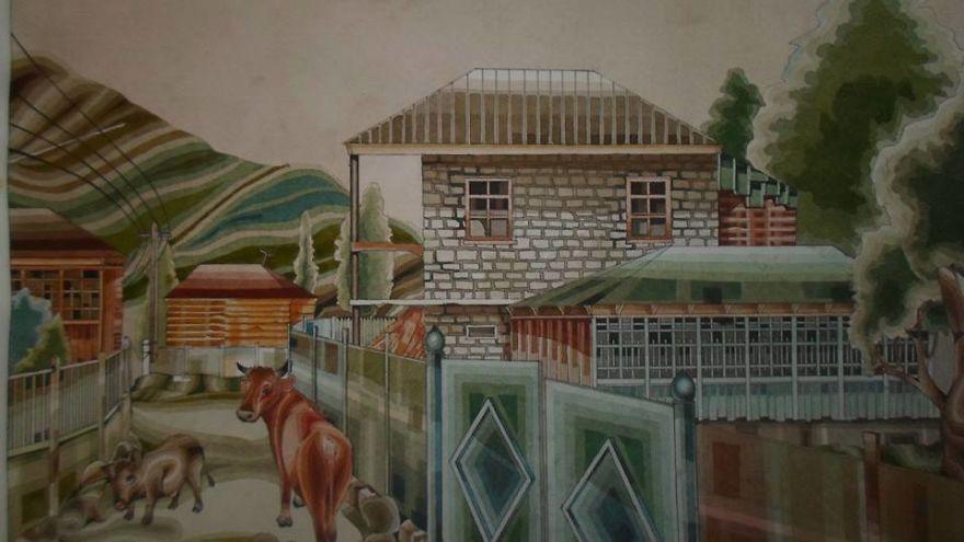 Village 'kharitvali'