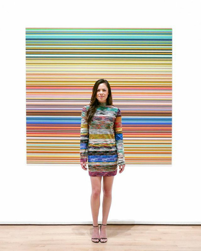 All Lined Up With Gerhard Richter At