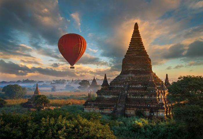 Bagan, In Myanmar