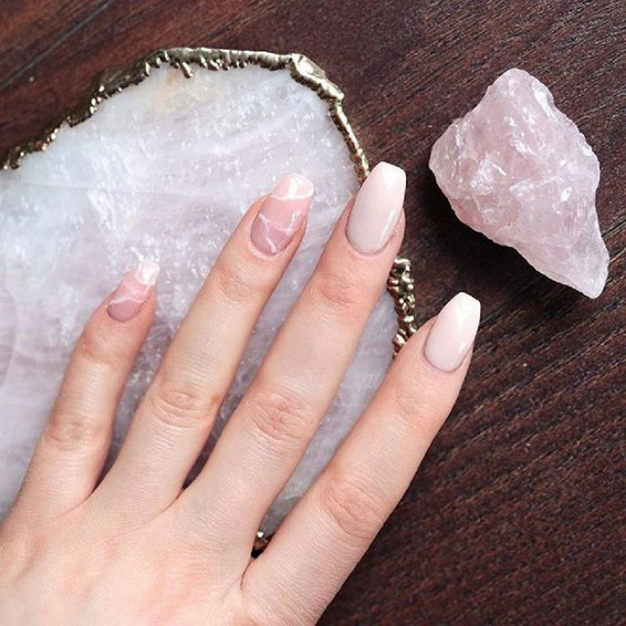Quartz Nails Are The Newest Beauty Trend And They