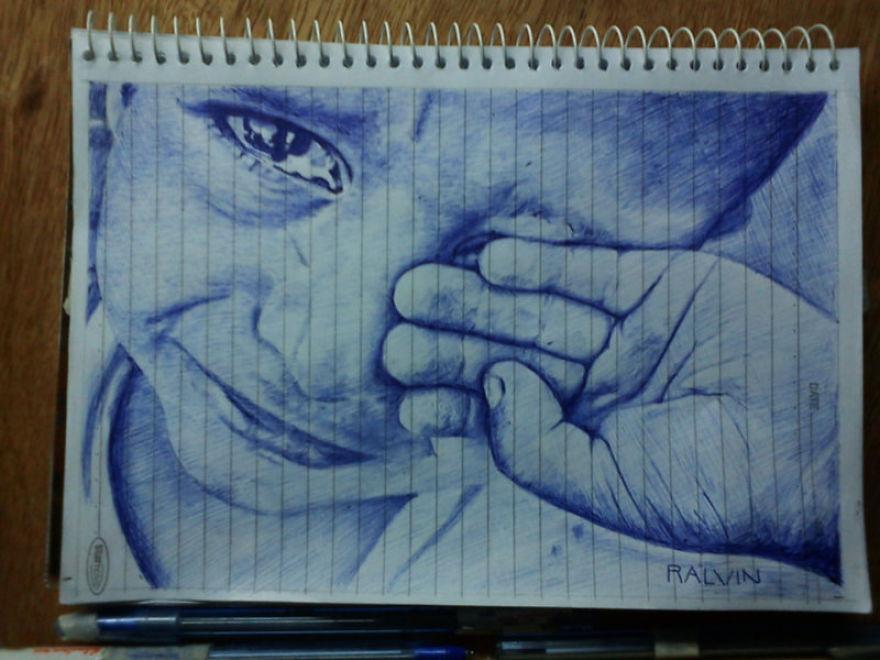 My Ballpoint Pen Art