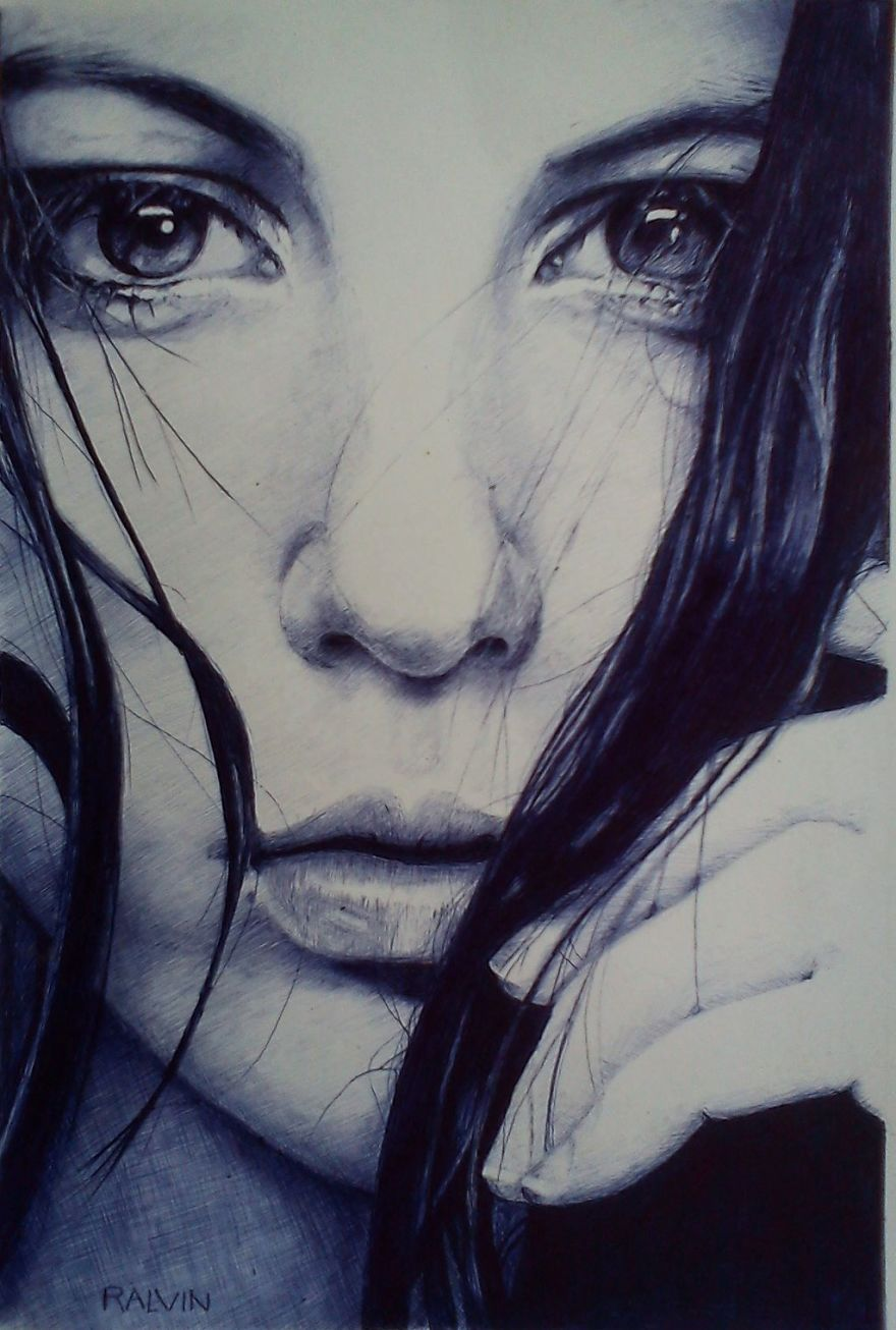 My Ballpoint Pen Art
