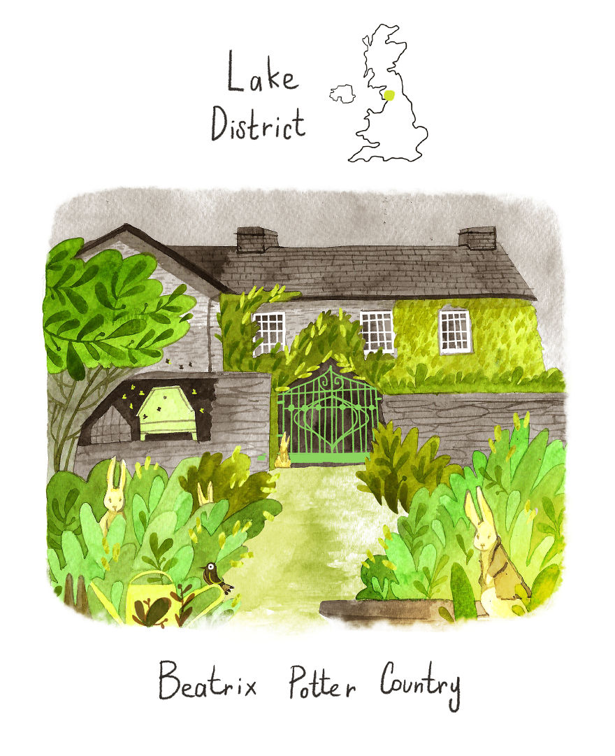 The Lake District - Home Of Beatrix Potter