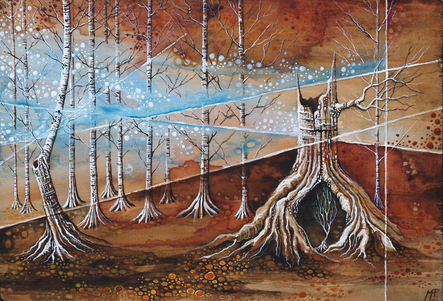 I Make Fantastical Nature Inspired Illustrations
