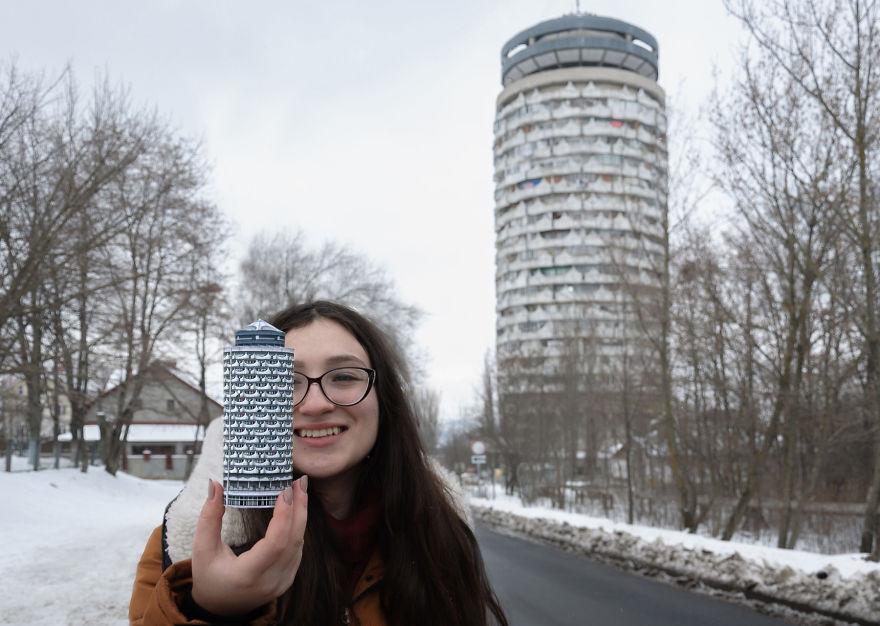 "Chisinau. ""romanița"" Collective Housing Tower. Photo By Mihail Kalarashan For Zupagrafika. 2017"