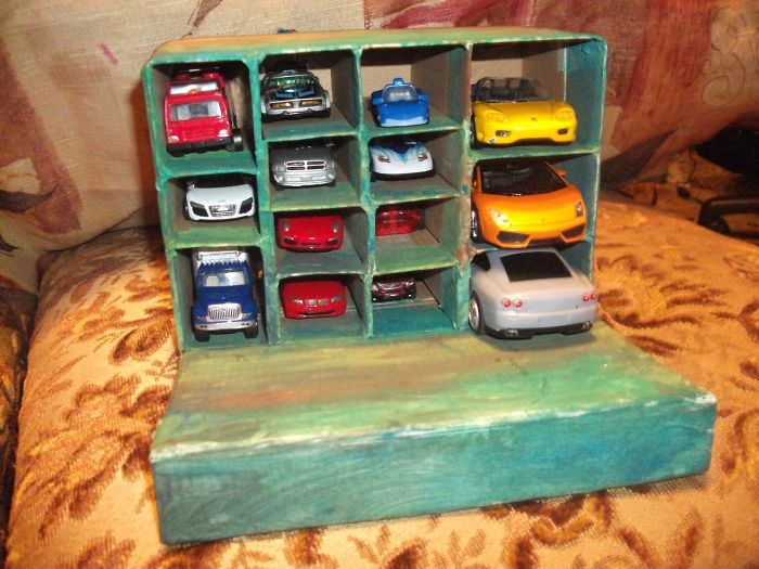Parking Garage For My Son's Car Collection