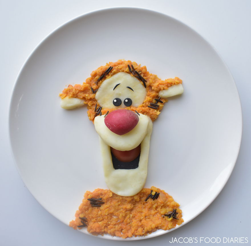 Tigger - Dahl With Mash Potato