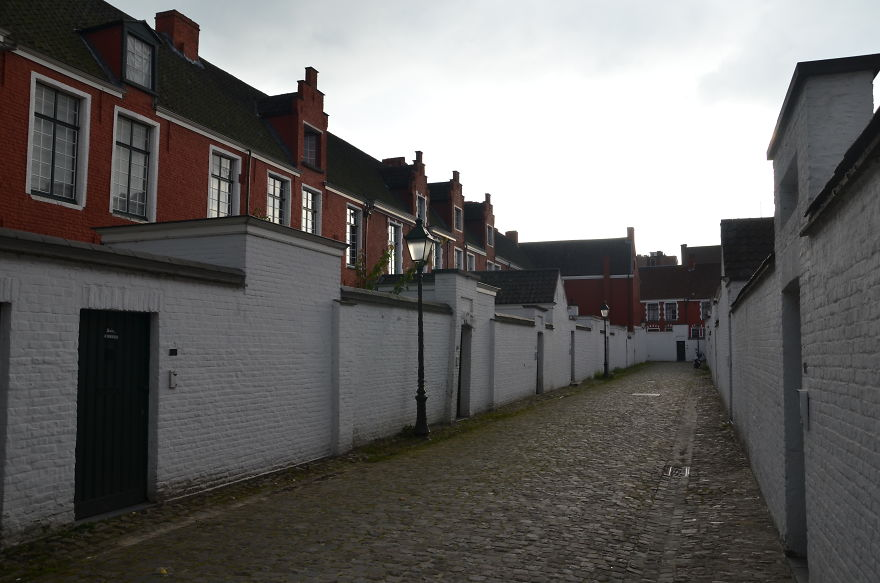 Beguinage In Ghent