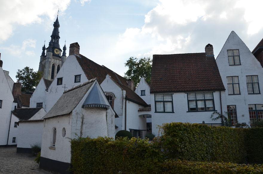 Beguinage In Kortrijk