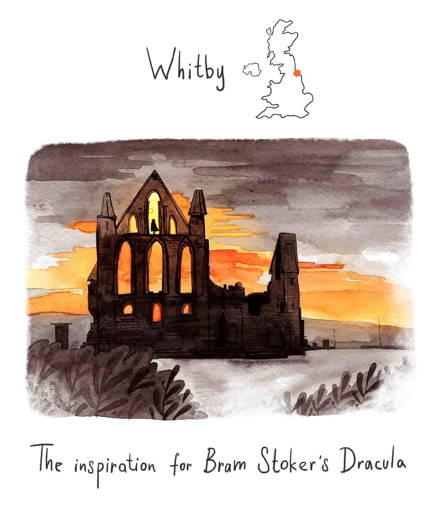 Whitby - Inspiration For Dracula